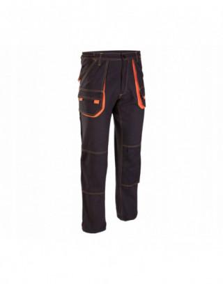 Bluzy polarowe męskie 290 czarne, LahtiPro L40101