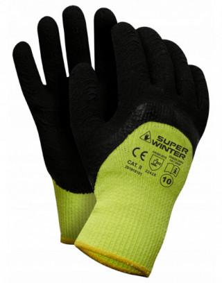 Rękawice oblewane PVC, rozm.9, 12par., LahtiPro L240109W